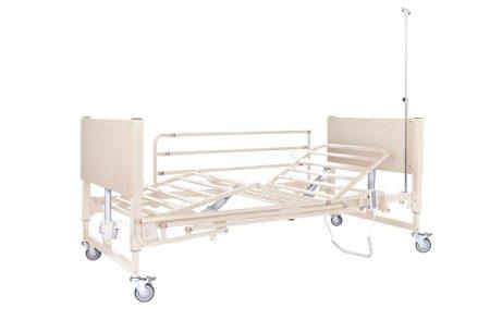 Mobiak 5 funkciós elektromos ápolási ágy -fehér
