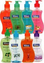 Higeen folyékony szappan és tusfürdő 500 ml