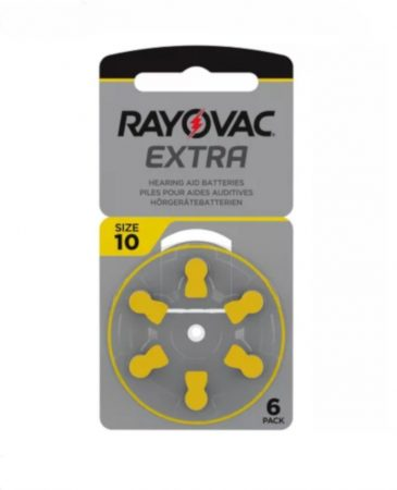 Rayovac 10 elem fülhallgatóhoz