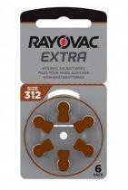 Rayovac 312 elem fülhallgatóhoz