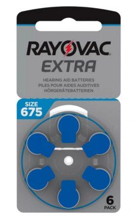 Rayovac 675 elem fülhallgatóhoz