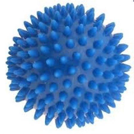 Tüskés labda szelepes 8 cm kék