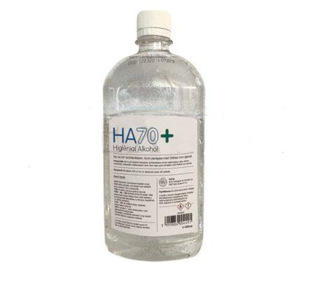 Fertőtlenítő Higéniai Alkohol HA 70+ 500 ml kéz- és bőrfertőtlenítésre