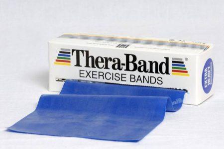 Thera-Band 5,5 m kék extra erős erősítő gumiszalag