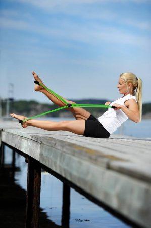 Sissel pilates core trainer hát/kar izomerősítésre