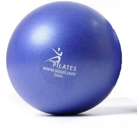 Sissel pilates soft ball kék 22cm