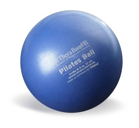 Thera-Band 22 cm kék pilates labda (soft ball)