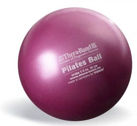 Thera-Band 18 cm lila pilates labda (soft ball)