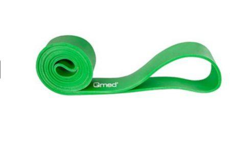 QMED Erősítő gumiszalag hurok 30-57 kg Zöld