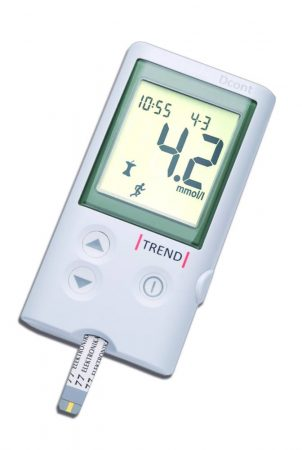 D-Cont Trend vércukorszintmérő készülék