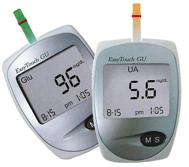 Vércukor- és húgysav mérő szet Easy Touch Wellmed ET- GU e0a3241875