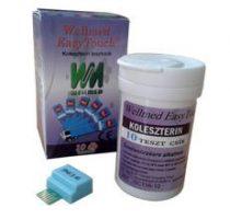 Tesztcsík Wellmed Easy Touch Cholesterol 10 db