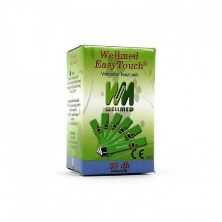 Tesztcsík Wellmed Easy Touch Vércukor 25 db