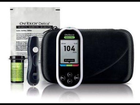 One Touch Select Plus vércukormérő készülék