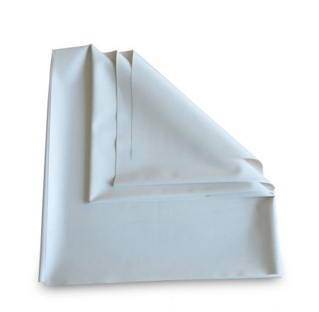 Gumilepedő 90 x 100 cm fehér (matracvédő)
