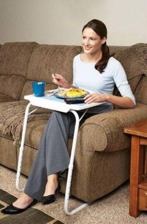 Table Mate hordozható asztal 40 x 52 cm