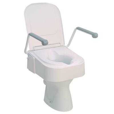 Állítható magasságó WC magasító felhajtható karfával