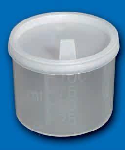 Vizeletes pohár fedővel steril 100 ml