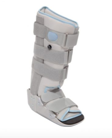 Walker légpárnás boka- és lábszárrögzítő csizma hosszú