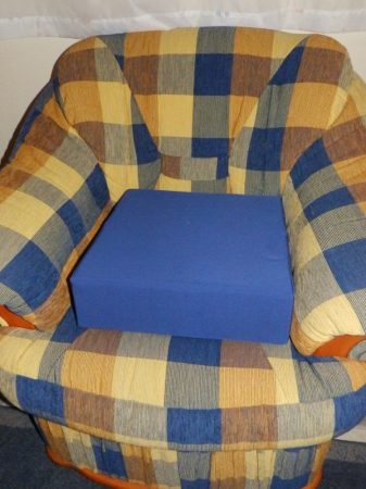 Ülésmagasító párna 40x40x12