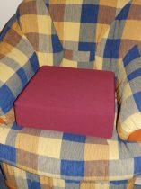 Ülésmagasító párna színes 40x40x12