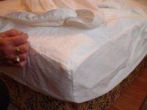 Matracvédő lepedő gumírozott széllel 90 x 200 cm