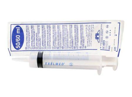 Öblítő fecskendő műanyag 50-60 ml IMI (Exelmed)