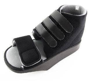 Lábfej tehermentesítő cipő pántos