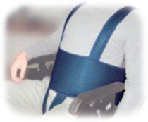 Betegrögzítő biztonsági mellény kerekesszékbe