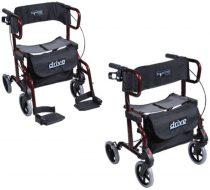 Rollátor és betegszállító szék egyben, DiaDel