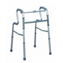 Felállást segítő lépcsőzetes összecsukható járókeret 4 markolattal