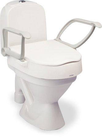 Állítható magasságú felhajtható karfás prémium WC magasító ETAC  CLOO