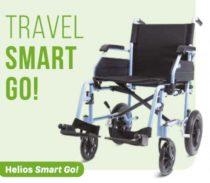 Transit kerekesszék aluminium Helios Smart Go