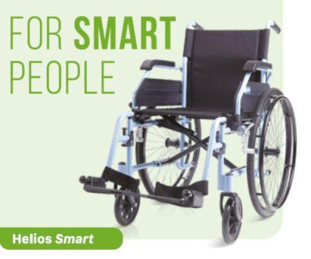 Kerekesszék aluminium Helios Smart