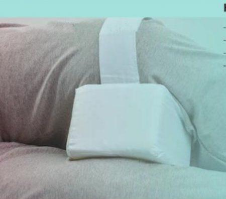 Tértámasztó párna Standard fehér pántos
