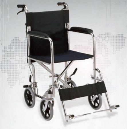 ECONOMIC Transport acél kerekesszék - 13 kg