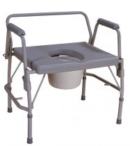 Nagy teherbírású állítható magasságú karfás szoba WC Mobiak 225 kg