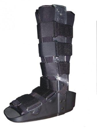 Boka- és lábszár rögzítő csizma Walker fix rögzítéssel hosszú Mobiak