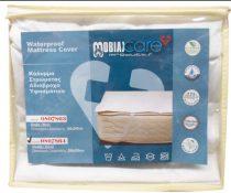 Vízálló matracvédő lepedő rögzítő fülekkel dupla 200 x 200 cm MOBIAK