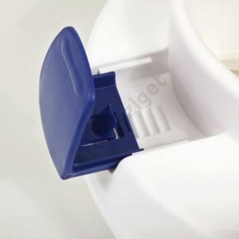Rögzítő műanyag fül Clipper Wc magasítóhoz