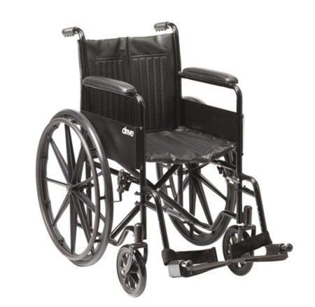 Standard kerekesszék S1 115 kg teherbírás