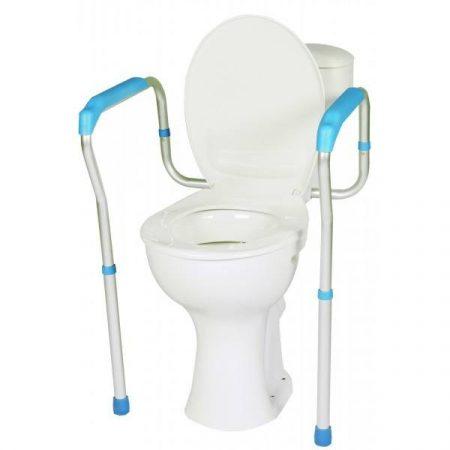 Biztonsági keret wc-hez, 2 lábbal