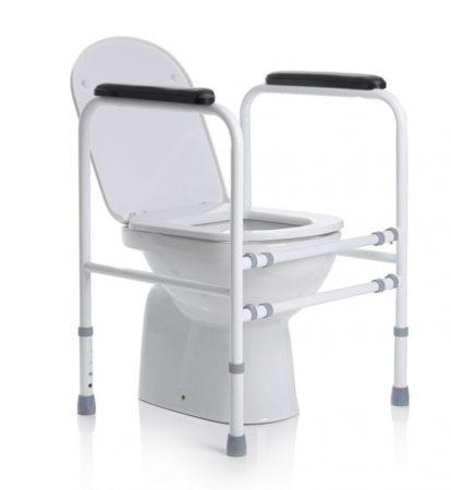 Biztonsági keret wc-hez, 4 lábbal
