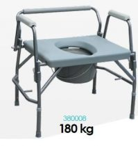 Extra széles szobai wc XXL nagy teherbírású (180kg)