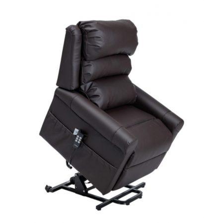 Stylea kétmotoros fotel műbőr huzattal