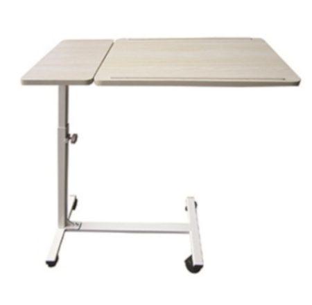 Kétlapos ágyasztal dönthető lappal Bézs - 809243