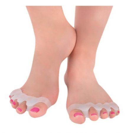 5 ujjas lábujj távtartó