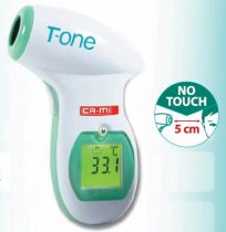 T-ONE infravörös értintés nélküli homlok lázmérő Ca-MI
