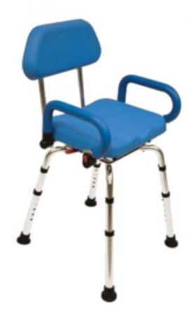 Blue swing zuhanyszék állítható magasságú és 360 °-ban forgatható ülés