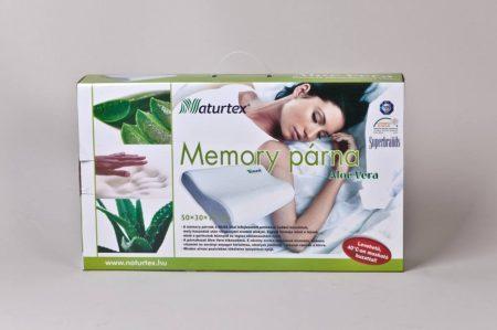 Memory párna aloe-verás 50 x 30 x 10cm (Naturtex)